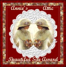 Annie's Attic Beautiful Site Award