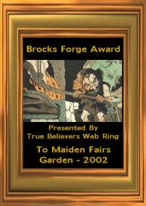 Brock's Forge Award